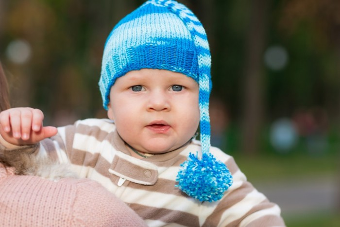 Baby of the Blue Hat
