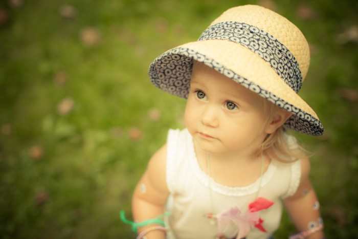 Flower Hat Baby