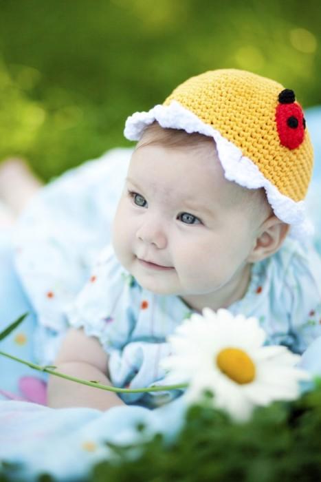 Ladybug Hat Baby