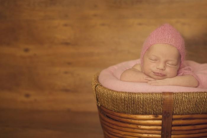 Sleeping Beauty in a Pink Hat