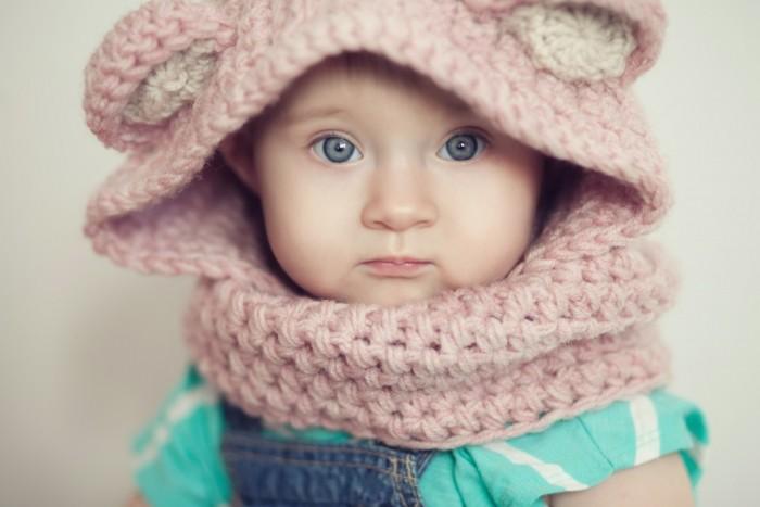 Warm Hooded Little One