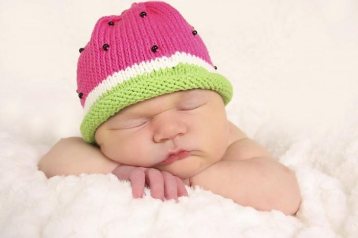 Watermelon Hat Baby