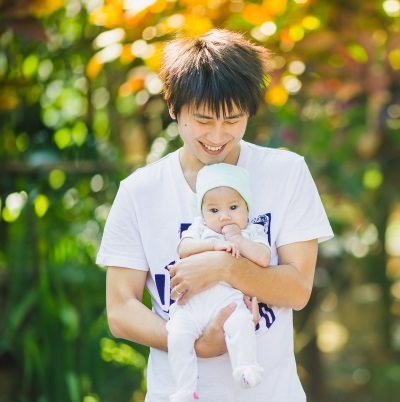 Daddy can help and enjoy baby time